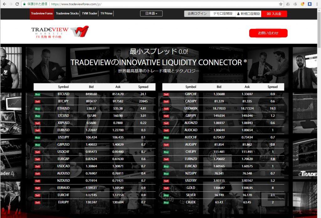 Traderview公式サイト